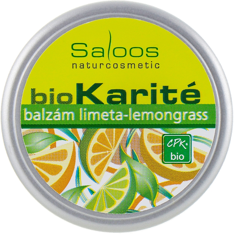 """Био-бальзам для тела """"Лимонник-Лайм"""" - Saloos (пробник)"""