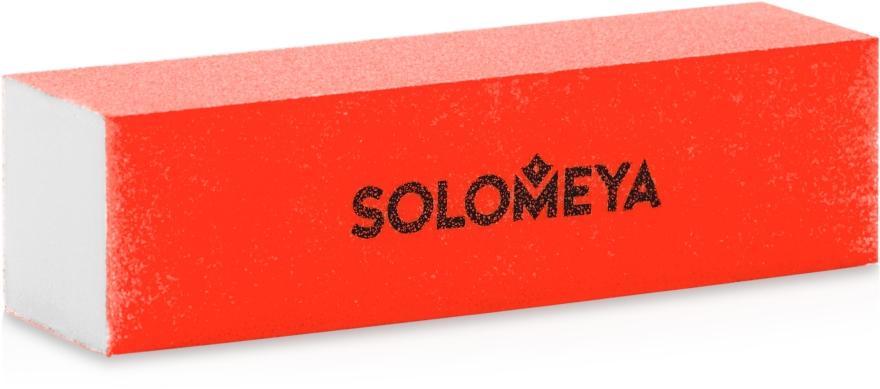 Блок-шлифовщик для ногтей, оранжевый - Solomeya Sanding Block