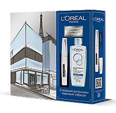 Духи, Парфюмерия, косметика L'Oréal Paris False Lash Architect 4D (mascara/10.5ml + micellar/water/200ml) - Набор
