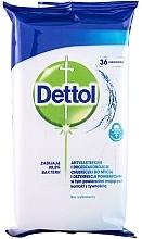 Духи, Парфюмерия, косметика Антибактериальные салфетки для мытья и дезинфекции - Dettol Antibacterial Cleansing Surface Wipes