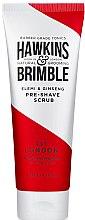 Духи, Парфюмерия, косметика Пилинг для лица до бритья - Hawkins & Brimble Elemi & Ginseng Pre Shave Scrub