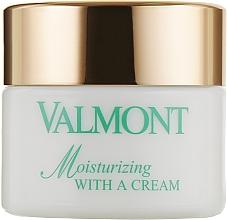 Духи, Парфюмерия, косметика Увлажняющий крем для кожи лица - Valmont Moisturizing With A Cream