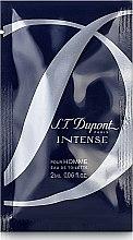 Духи, Парфюмерия, косметика Dupont Intense Pour Homme - Туалетная вода (пробник)