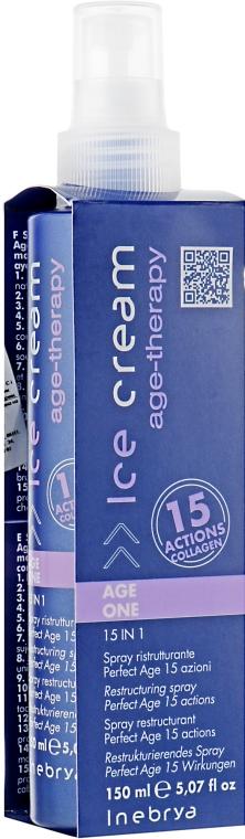 """Восстанавливающий идеальный спрей 15в1 """"Антивозрастной"""" - Inebrya Age Therapy Perfect Age 15-Action Restructuring Spray"""