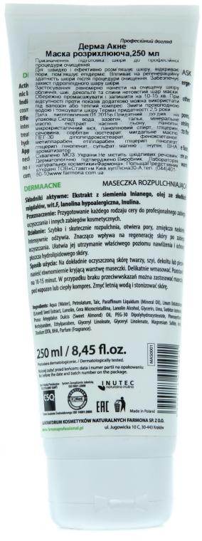 Маска для обличчя розпушуюча - Farmona Derma Acne — фото N4