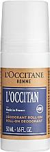 Духи, Парфюмерия, косметика L'Occitane Eau de L'Occitan - Роликовый дезодорант для мужчин