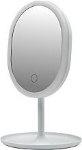 Духи, Парфюмерия, косметика Зеркало с LED-подсветкой 498579, белое - Inter-Vion LED With Mini USB
