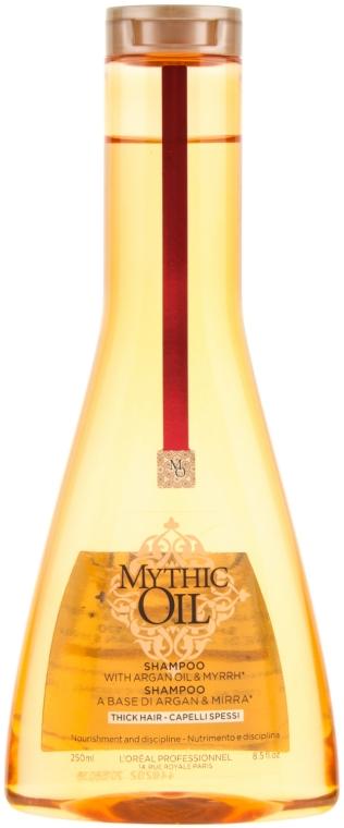 Шампунь для плотных волос - L'Oreal Professionnel Mythic Oil Shampoo for Thick Hair
