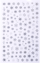 Парфумерія, косметика Наклейки для ногтей, серебро, 80х130 мм - Vizavi Professional