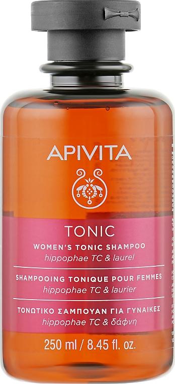 Шампунь женский тонизирующий с комплексом на основе облепихи и лавра - Apivita Women's Tonic Shampoo With Hippophae TC & Bay Laurel