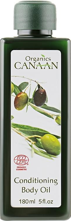 Розслаблююче масло для тіла - Canaan Organics Conditioning Body Oil — фото N1