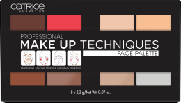 Духи, Парфюмерия, косметика Профессиональная палетка для лица - Catrice Professional Make Up Techniques Face Palette