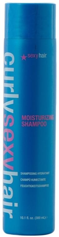 Увлажняющий шампунь для вьющихся волос - SexyHair CurlySexyHair Moisturizing Shampoo