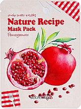 """Духи, Парфюмерия, косметика Маска для лица тканевая """"Гранат"""" - Secret Key Nature Recipe Mask Pack"""