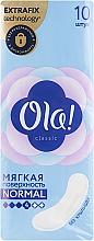 Духи, Парфюмерия, косметика Гигиенические прокладки, 10 шт - OLA! Classic Normal