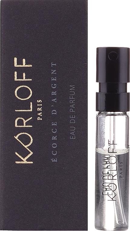 Korloff Paris Ecorce D'Argent - Парфюмированная вода (пробник)