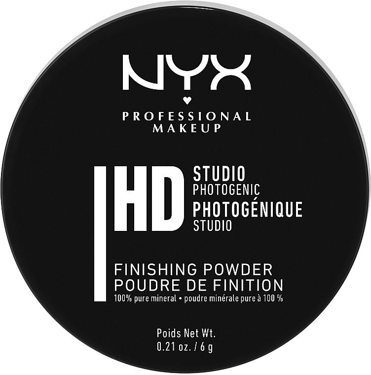 Минеральная финишная пудра - NYX Professional Makeup Studio Finishing Powder