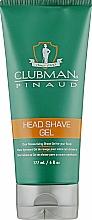 Духи, Парфюмерия, косметика Увлажняющий гель для бритья - Clubman Pinaud Head Shave Gel