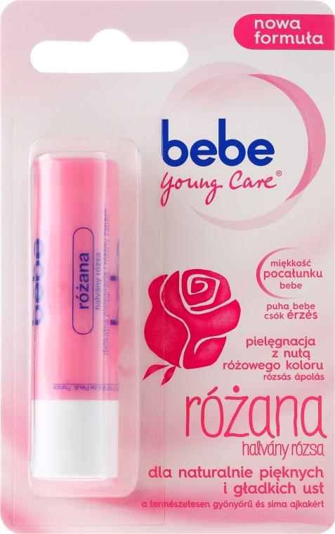 Бальзам для губ розовый - Johnson's® Bebe Young Care Rose Lip Balm