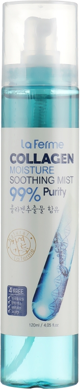 Увлажняющий успокаивающий мист с коллагеном - FarmStay La Ferme Moisture Soothing Collagen Mist