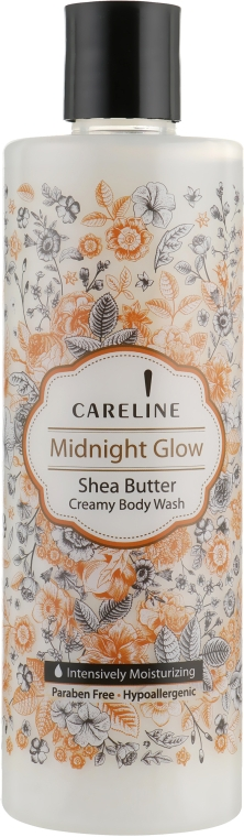 Крем-гель для душа с ароматом масла Ши - Careline Midnight Glow Shea Butter Creamy Body Wash