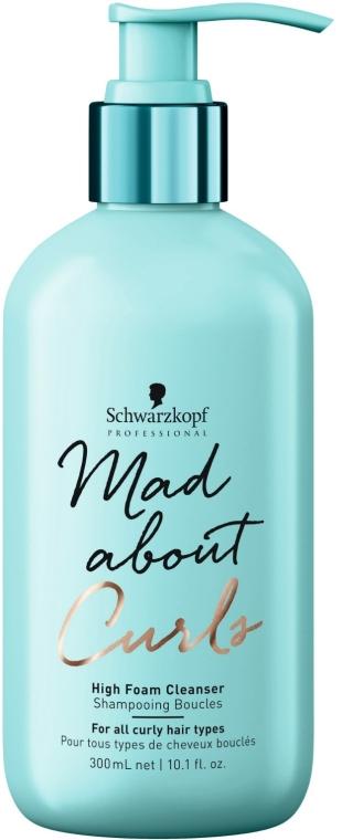 Бессульфатный шампунь для кучерявых волос - Schwarzkopf Professional Mad About Curls High Foam Cleanser Shampoo