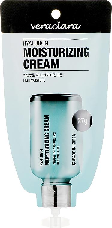 Крем увлажняющий с гиалуроновой кислотой для лица - Veraclara Hyaluron Moisturizing Cream