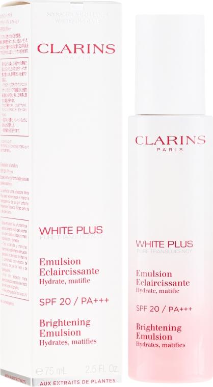 Матирующая эмульсия - Clarins White Plus Emulsion SPF20