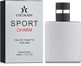 Духи, Парфюмерия, косметика CocoLady Sport Charms - Туалетная вода