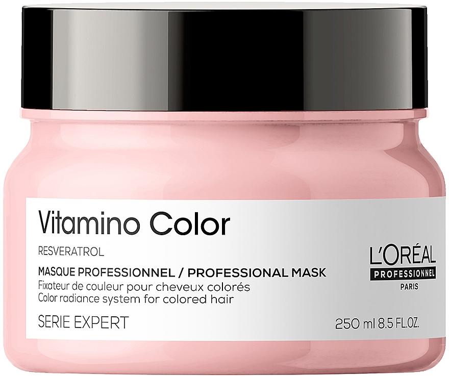 Маска для окрашенных волос - L'Oreal Professionnel Serie Expert Vitamino Color Resveratrol Mask