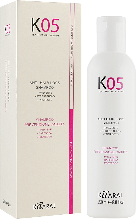 Шампунь против выпадения волос - Kaaral К05 Anti Hair Loss Shampoo
