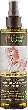 Духи, Парфюмерия, косметика Разглаживающее средство для укладки и укрепления волос - ECO Laboratorie Styling And Hair Strengthening