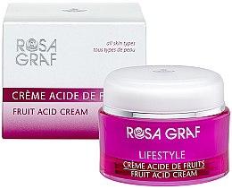 Духи, Парфюмерия, косметика Крем для лица с фруктовыми кислотами - Rosa Graf Lifestyle Fruit Acid Cream