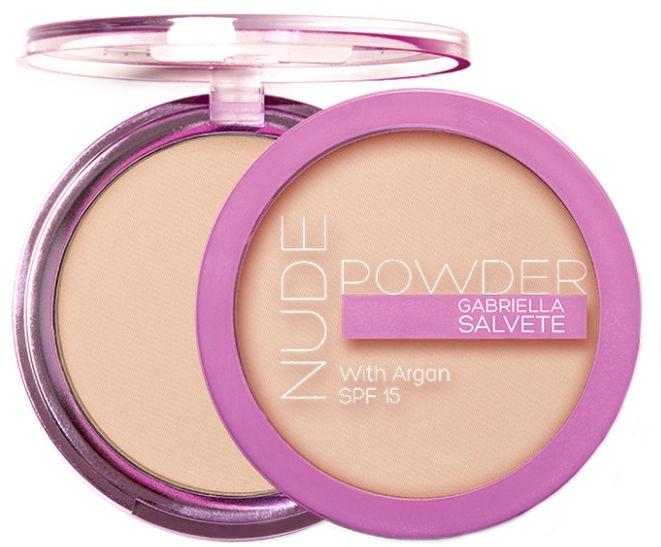 Пудра для лица - Gabriella Salvete Nude Powder SPF15 — фото N1