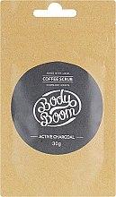 Духи, Парфюмерия, косметика Скраб для тела с активированным углем - BodyBoom Active Charcoal Coffee Scrub