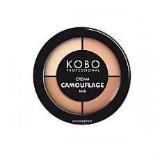 Духи, Парфюмерия, косметика Корректор для лица микс - Kobo Professional Cream Camouflage Mix