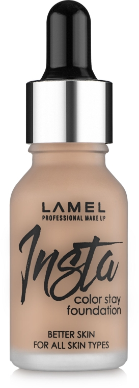 Тональный крем - Lamel Professional Foundation Insta Color Stay