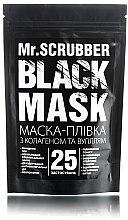 Духи, Парфюмерия, косметика Черная коллагеновая маска-пленка для лица - Mr.Scrubber Black Mask