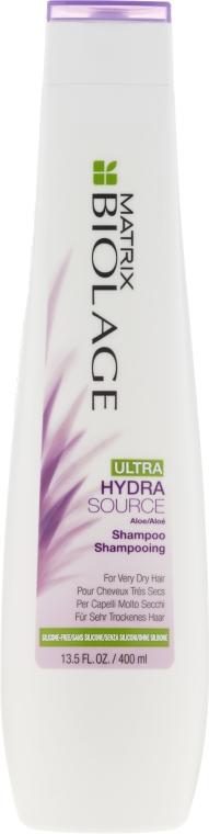 Шампунь для увлажнения очень сухих волос - Biolage Ultra Hydrasource Shampoo