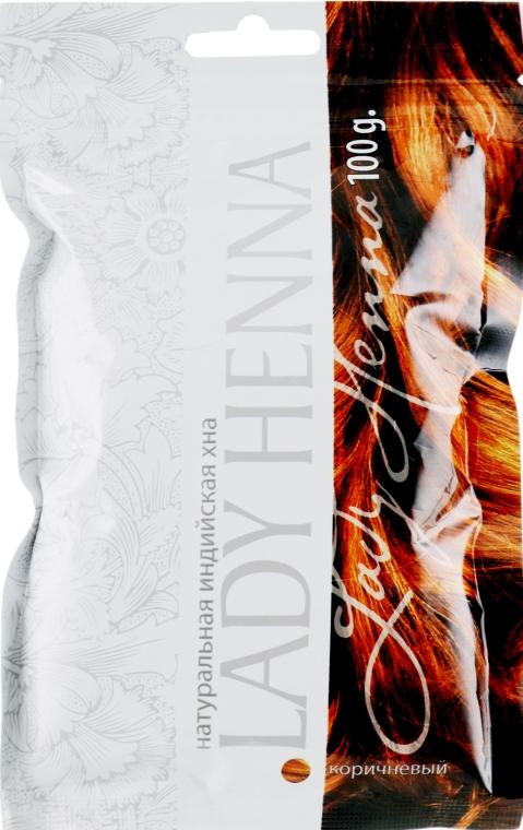 Хна натуральная Коричневая - Lady Henna
