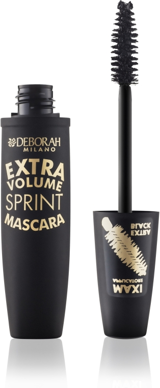 """Тушь для ресниц """"Экстра Объем"""" - Deborah Extra Volume Sprint Mascara — фото N2"""