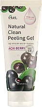 "Пилинг-гель для лица ""Ягоды Асаи"" - Ekel Acai Berry Natural Clean Peeling Gel — фото N5"