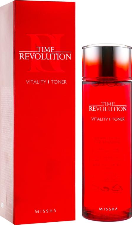 Интенсивный антивозрастной тоник - Missha Time Revolution Vitality Toner