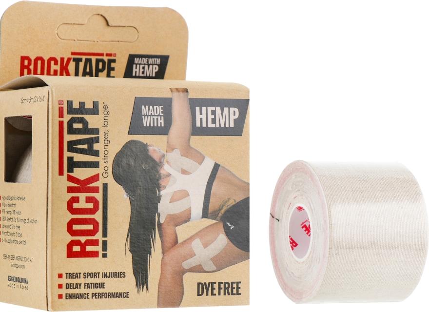 """Кинезио тейп """"Hemp"""" - RockTape Kinesio Tape"""