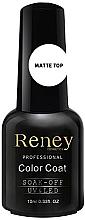 Духи, Парфюмерия, косметика Закрепитель гель-лака матовый - Reney Cosmetics Top Matte Velvet No Wipe