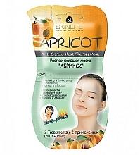 "Духи, Парфюмерия, косметика Распаривающая маска ""Абрикос"" - Skinlite Apricot Anti-Stress Heat Therapy Mask"