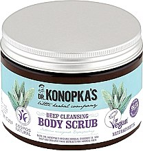 Духи, Парфюмерия, косметика Скраб для тела глубоко очищающий - Dr. Konopka's Deep Cleansing Body Scrub