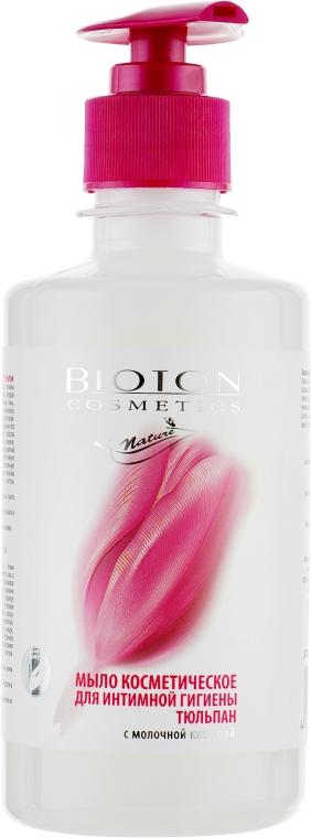 """Мыло косметическое для интимной гигиены """"Тюльпан"""" - Bioton Cosmetics Nature"""