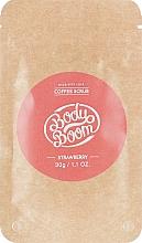 Духи, Парфюмерия, косметика Кофейный скраб, клубничный - BodyBoom Coffee Scrub Strawberry