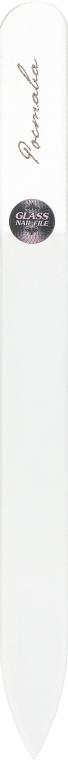 Пилочка для ногтей, хрустальная прозрачная, 135мм - Ростава